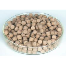 Cor manchada aditivos de borracha marrom grânulos MBT-80