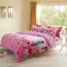 super soft 220gsm printed wholesale flannel bedding