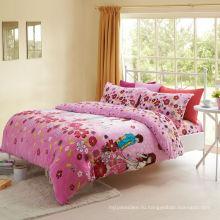 Супер мягкие 220gsm печатные оптовые фланелевые постельные принадлежности