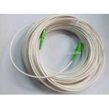 SC / APC marfim cabo de remendo de cabo de fibra óptica branco, cabo de gota ftth 60M com melhor preço