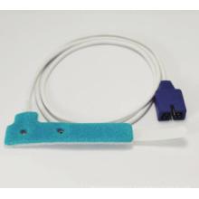 Capteur anti-adhésif Nellcor anti-adhésif de SpO2, 9 broches, Nellcor Oximax Neonate / Adult Disponible