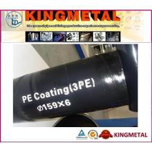 3PE Beschichtung API 5L X52 Leitungsrohr
