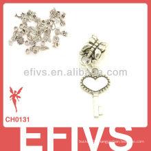 2013 New Fashion key charms 925 silver pendant charms