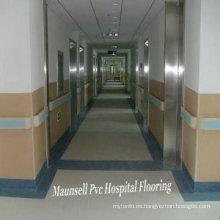 Piso médico y de hospital profesional de PVC y homogéneo (2.0 mm)