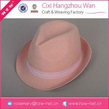 Wholesale High Quality high quality felt light blue felt hat
