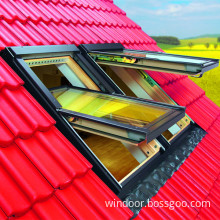 Double Glazed Aluminum Roof Window