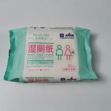 Higiene Sanitaria Eco Amigable Rollo de papel higiénico húmedo