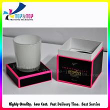 Wholesale Custom Cardboard Packaging with Lid Paper Candle Jar Packaging