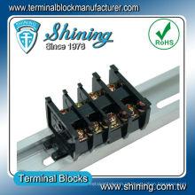 TS-Series Bnc Tipo de cassete 15A 25A 35A 25mm Rail Terminal Block
