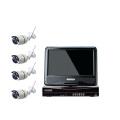 Sistema de seguridad 1080P Wireless NVR Kit más pequeña cámara de cctv inalámbrica