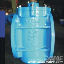 Cast Steel Soft Sealing RF Flanged Eccentric Plug Valve