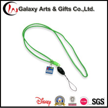 Promotional Item Zipper Lanyard Strap Custom