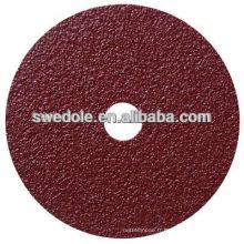disque 80m / s de fibre de taux maximum d'utilisation pour le polissage et peint