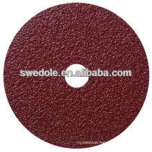 aluminum oxide fiber disc with super sharp cutting