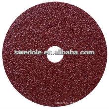 taxa de utilização máxima de 80 m / s de disco de fibra para polimento e pintado