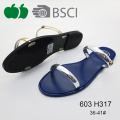 2016 New Fashion Summer Style Lady Fancy Pvc Slippers