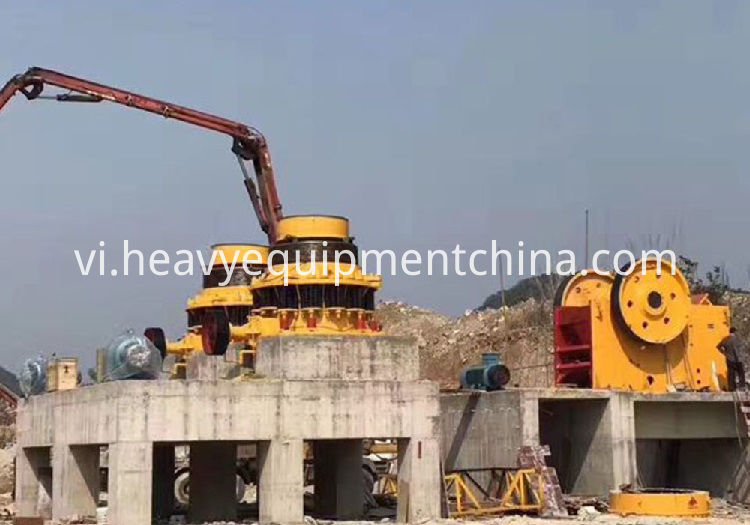 Hydraulic HP Mine Cone Crusher