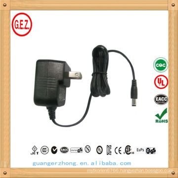 universal 12v pse linear adapter with Japanese plug
