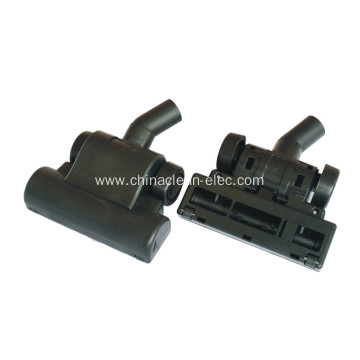 four smooth-running rollers plastic brush