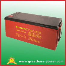 220ah 12V High Rate Lead Acid Battery with Long Life Service