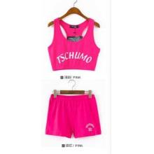 OEM Sportswear Vestuário Últimas Design Mulheres Slim Algodão Bodysuit