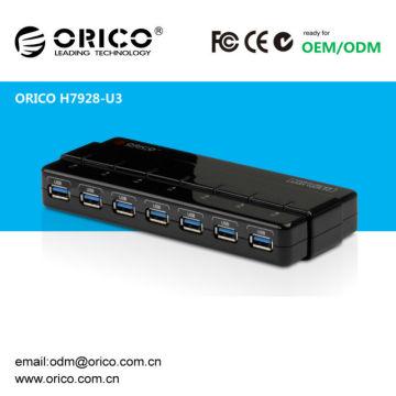 7portos del concentrador USB3.0