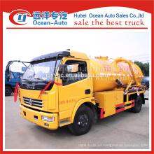 Camión de la limpieza de la alcantarilla del vacío, pequeño camión de la limpieza de la aspiradora para la venta