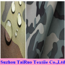 100% poliéster Oxford con camuflaje impreso para tejido militar uniforme