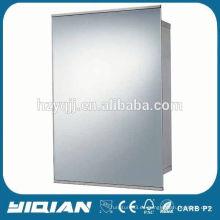 De pared con espejo de luz LED de diseño de puerta de gabinete de almacenamiento de medicina