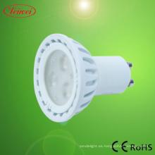 SAA 3W LED GU10 bombilla proyector