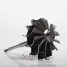 Roue de turbine de haute qualité personnalisée