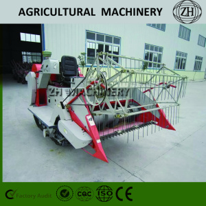 Brand New 1.0kg/s Mini Rice Combine Harvester