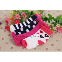Heißer Verkauf gute Qualitätsbaby-Baumwollsocken Neugeborene Socken-Baby-Socken-Strumpf