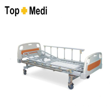 Cama de hospital manual de acero de Topmedi Hospital