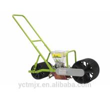 Manual de mano empuje de hierba / hortalizas Sembradora / plantadora de semillas de hortalizas