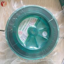 Alambre de molibdeno de corte de alta pureza 0.18mm EDM