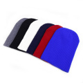 Fashion unisex sport winter knitted hat solid color beanie hats