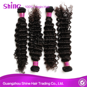 Indian Raw Deep Curly Human Hair Extensions
