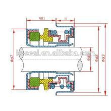 Hochwertige Gleitringdichtung für Wasserpumpe - F16