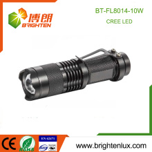 Factory Supply 1*18650 Battery Tactical Aluminum Multi functional Beam Adjustable Zoom Power Style Rechargeable Cree led Torch
