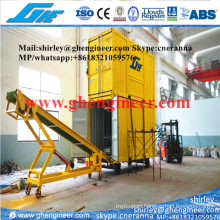 Rubber Tyre Mobile Bagging Machine in Port