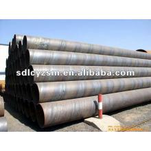 diámetro 108mm 610mm tubo de acero ERW