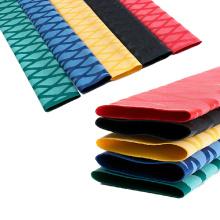 PE Material 2: 1 Variedad color antideslizante 30mm manga de encogimiento de calor