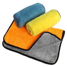 40/40cm Material Coral Fleece Car Wash Towel