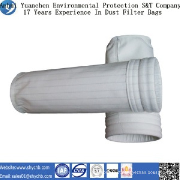 Saco de filtro da poeira do poliéster para o central elétrica a carvão com amostra grátis