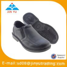 Zapato de resbalón negro de la escuela 2015 para los cabritos