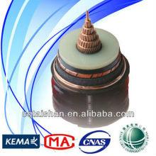 XLPE Indulink / Indugrex de alta calidad / cable multiplexado del Al (0.6-1KV) Cable de transmisión aéreo de la línea de transmisión de energía