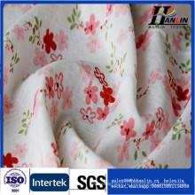 Цветочный узор 100% набивная хлопчатобумажная ткань Calico