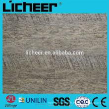 Valinge cliquez sur OAK Planchers de vinyle Planches avec des carreaux en fibre de verre / vinyle / surface estampée en vinyle