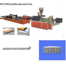 PVC Wood Plastic (Foam) Profile Extrusion Line (SJSZ65/132)